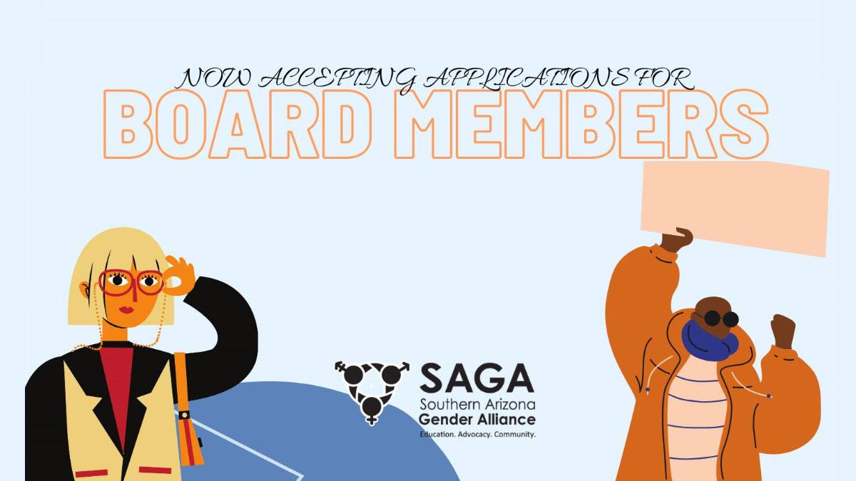 SAGA accepting applications for Board Members