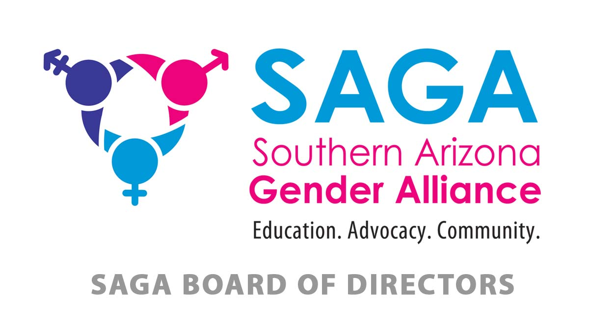 SAGA logo with SAGA Board of Directors text
