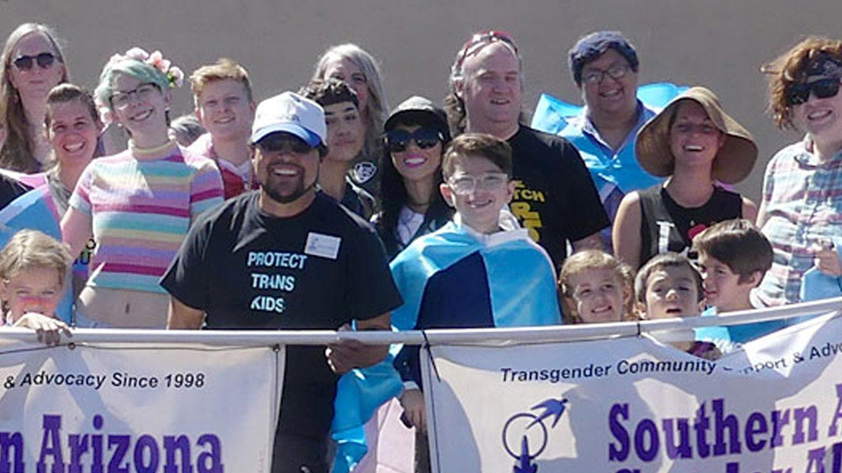 SAGA community members at Tucson Pride 2019